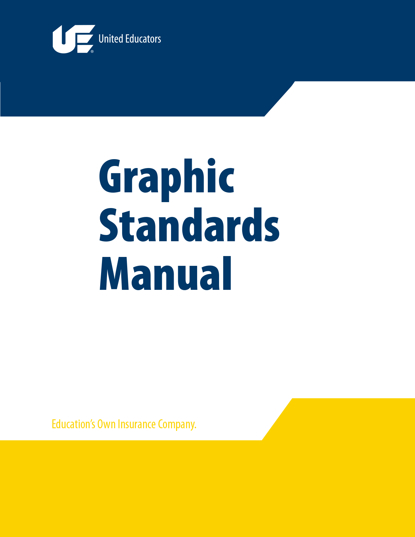 UE Graphic Standards Manual