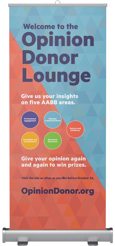 AABB - Opinion Donor - Signage