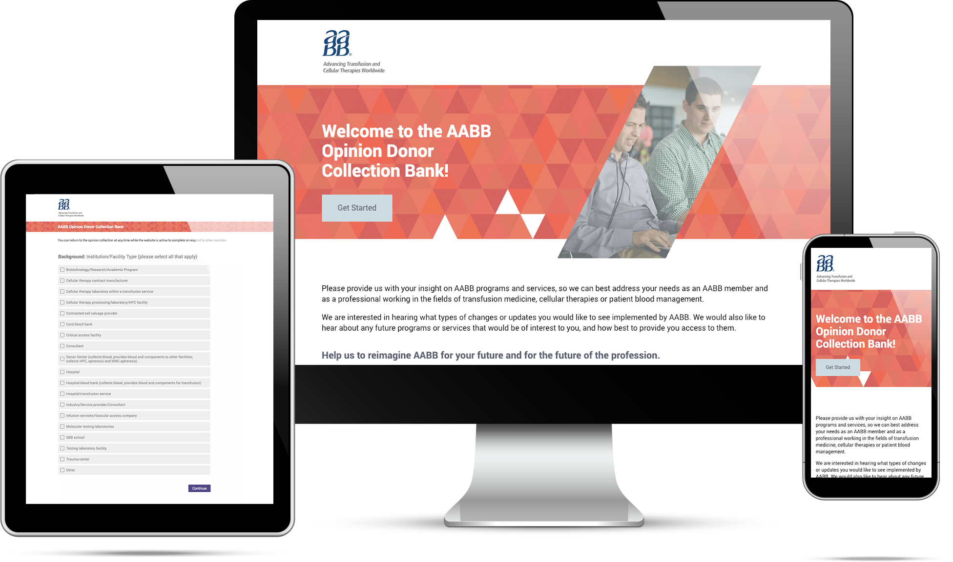 AABB - Opinion Donor Web