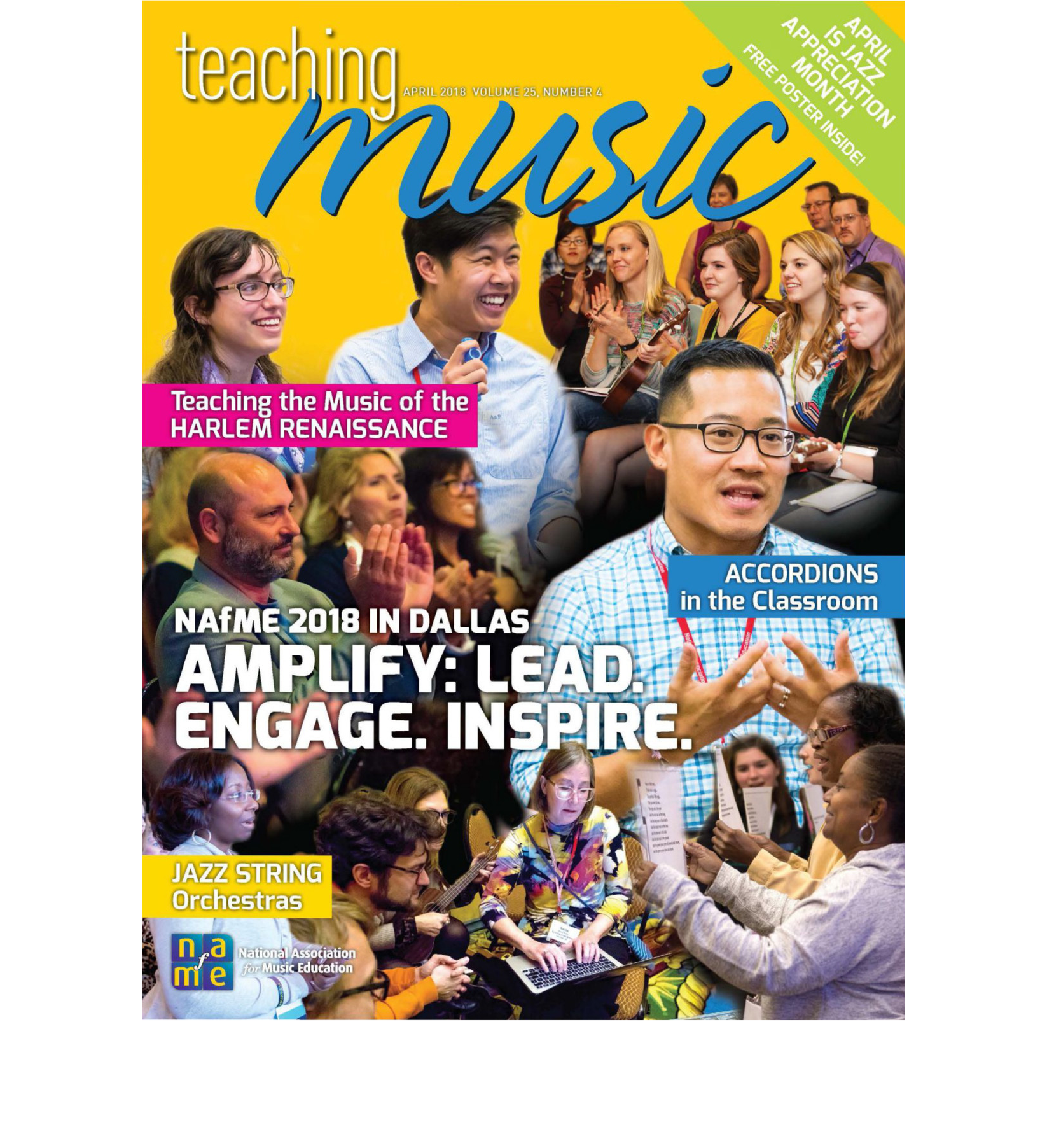 NAFME Teaching Music Cover Before