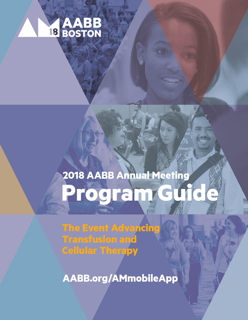 AABB 2018 Annual Meeting Program